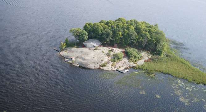 lake nipissing island islands