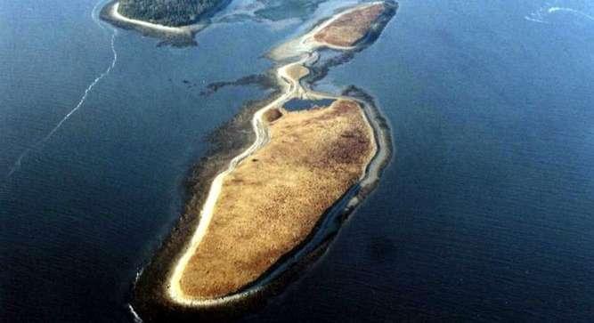Jones island islands