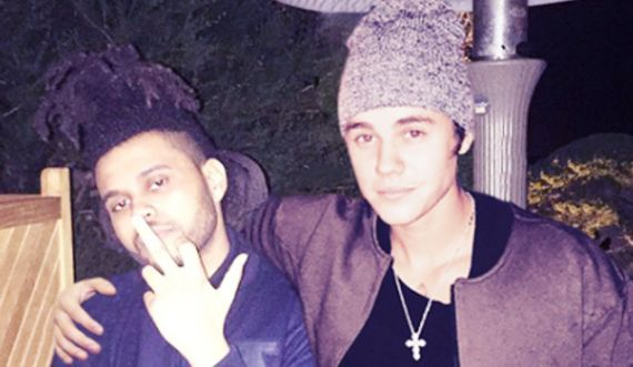 the weeknd and justin bieber feud