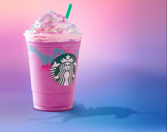 Starbucks' Unicorn Frappuccino is happening