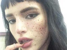 bella thorne bloody freckles
